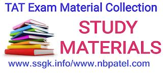 TAT Exam General Knowledge (Part 1) Model Paper 7