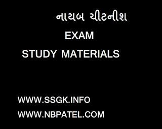 Nayab Citanish Study Materials for exam