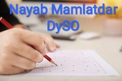Nayab Mamalatdar-Dy.S.O. Mock Test-2 by Banking Academy