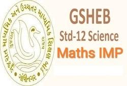Std-12 Maths IMP Question For March-2019 (Gujarati-English Medium)