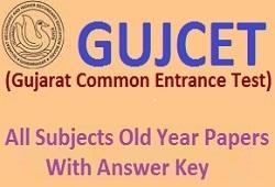 Maths Old Year Papers GUJCET Exam (Gujarati Medium)