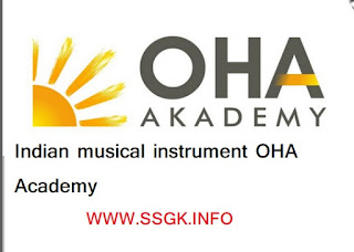 Indian musical instrument OHA Academy