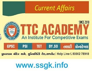 CURRENT AFFAIR JANUARY TO MAY BY TTC RAJKOT