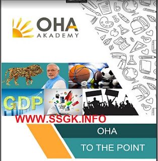 AUGUST-2019 ONE LINER CURRENT AFFAIRS BY OHA ACADEMY