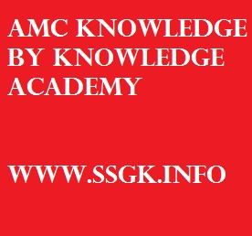 AMC KNOWLEDGE BY KNOWLEDGE ACADEMY
