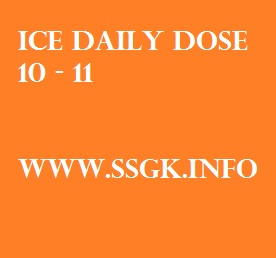ICE DAILY DOSE 10 - 11