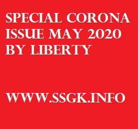 Special Corona Issue May 2020 BY LIBERTY