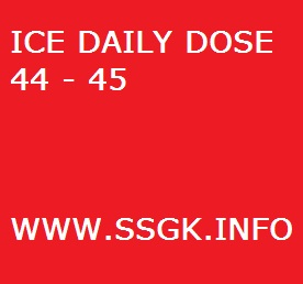 ICE DAILY DOSE 44 - 45