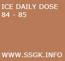 ICE DAILY DOSE 84 - 85