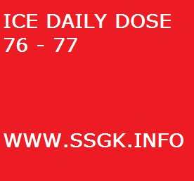ICE DAILY DOSE 76 - 77