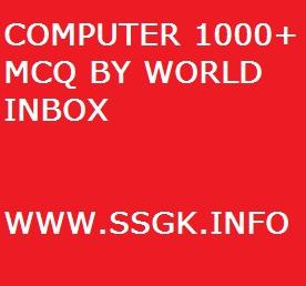 COMPUTER 1000+ MCQ BY WORLD INBOX
