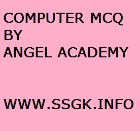 COMPUTER MCQ BY ANGEL ACADEMY