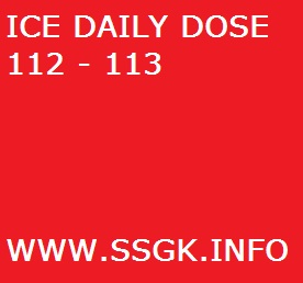 ICE DAILY DOSE 112 - 113