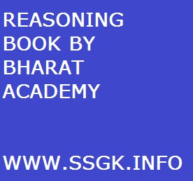 REASONING BOOK BY BHARAT ACADEMY