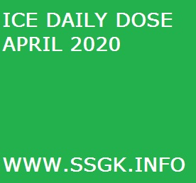 ICE DAILY DOSE APRIL 2020