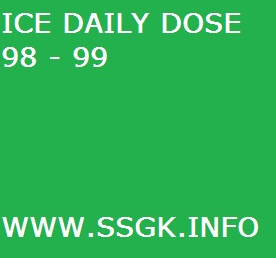 ICE DAILY DOSE 98 - 99