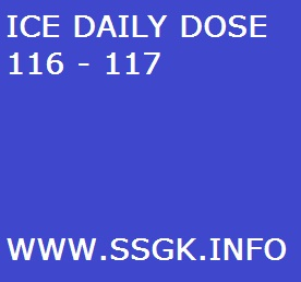 ICE DAILY DOSE 116 - 117