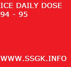 ICE DAILY DOSE 94 - 95