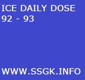 ICE DAILY DOSE 92 - 93