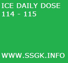 ICE DAILY DOSE 114 - 115