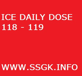 ICE DAILY DOSE 118 - 119