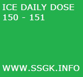 ICE DAILY DOSE 150 – 151