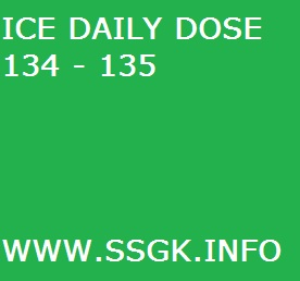 ICE DAILY DOSE 134 - 135