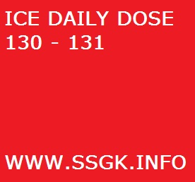 ICE DAILY DOSE 130 - 131