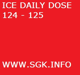 ICE DAILY DOSE 124 - 125