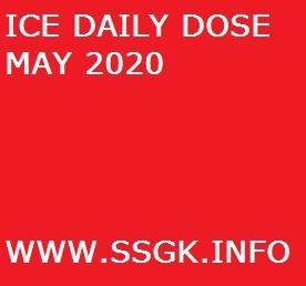 ICE DAILY DOSE MAY 2020
