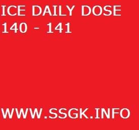 ICE DAILY DOSE 140 - 141