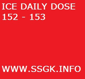 ICE DAILY DOSE 152 – 153